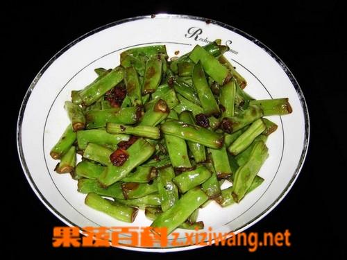 果蔬百科干煸豇豆